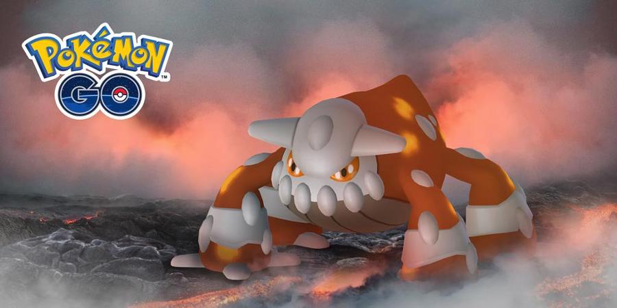 Pokémon GO - Heatran dans les Combats de Raids