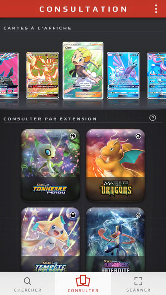 The Pokémon Company lance le Card-Dex du JCC Pokémon