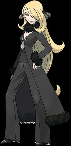 Maître de la Ligue Cynthia Pokémon Platine