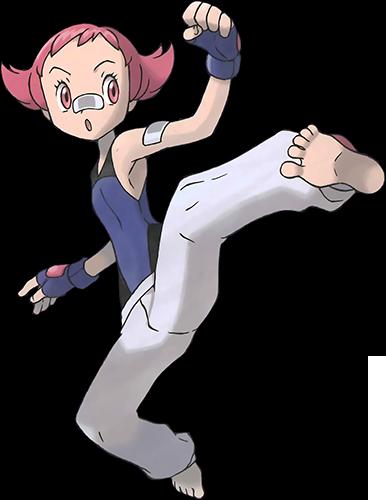 Mélina de Voilaroc Pokémon Platine