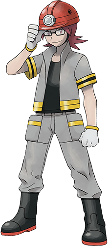 Pierrick de Charbourg Pokémon Platine