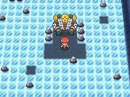 Capturer Regigigas Pokémon Diamant et Perle