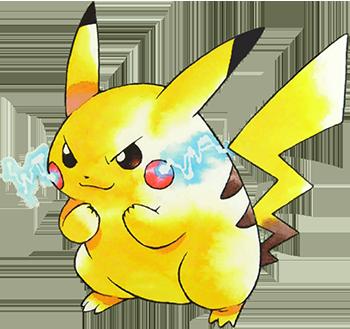 Starter Pikachu Pokémon Jaune