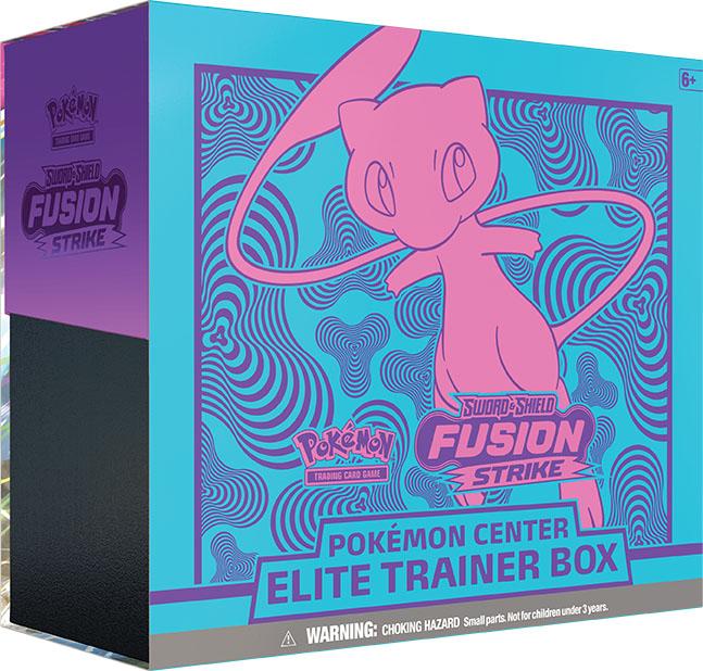 Coffret de Dresseur d'Élite Épée et Bouclier - Point de Fusion - Pokémon Center