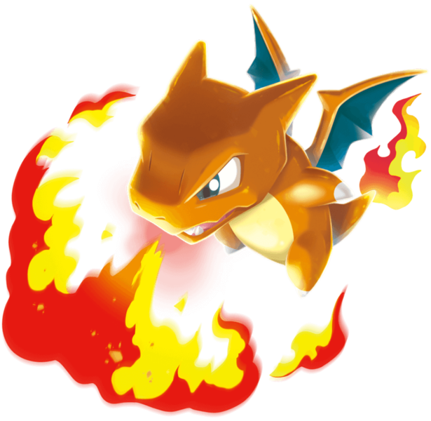 Artwork de Dracaufeu - Pokémon Rumble Rush