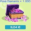 Poké Diamants x1000 - Boutique du jeu - Pokémon Rumble Rush