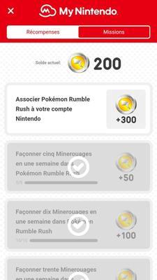 Pokémon Rumble Rush - Missions My Nintendo