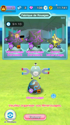 Pokémon Rumble Rush - Fabrique de Rouages