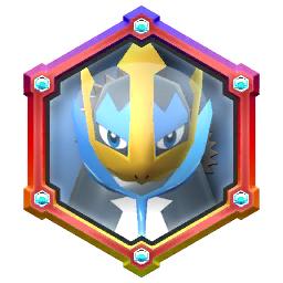 Pokémon Rumble Rush - Rouage Invoc Aqua-Jet (Pingoléon)