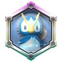 Pokémon Rumble Rush - Rouage Invoc Aqua-Jet (Prinplouf)