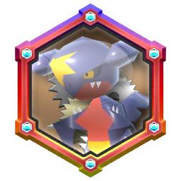 Pokémon Rumble Rush - Rouage Invoc Séisme (Carchacrok)