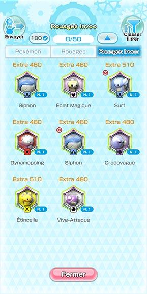 Rouages Invoc Pokémon Rumble Rush