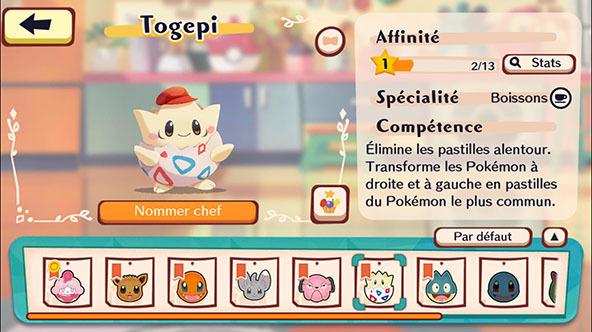 Clients spéciaux - Pokémon Café Mix