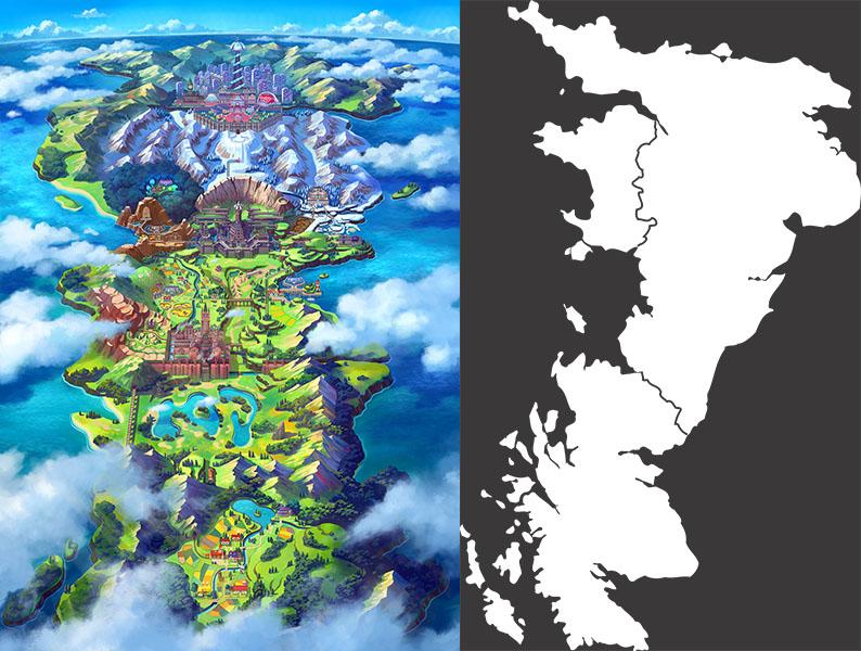 Pokémon Épée et Bouclier : analyse de la région de Galar