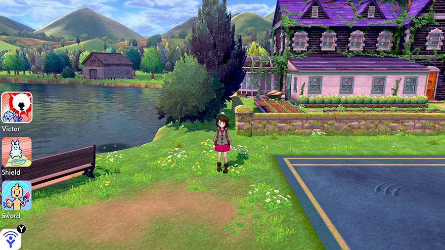 Interface des Amis Pokémon Épée et Bouclier