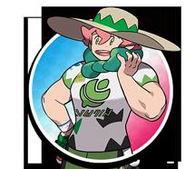 Champion d'Arène Percy Pokémon Épée et Bouclier