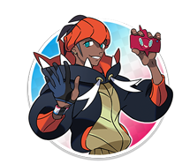 Champion d'Arène Roy Pokémon Épée et Bouclier