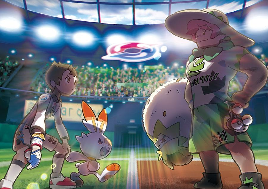 Arènes Pokémon Épée et Pokémon Bouclier