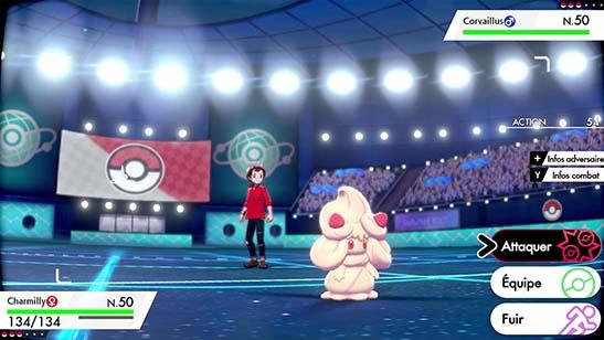 Charmilly Pokémon Épée et Bouclier
