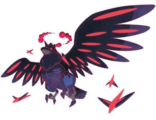 Corvaillus Gigamax Pokémon Épée et Bouclier