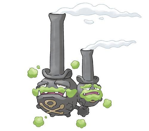 Smogogo de Galar Pokémon Épée et Bouclier