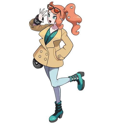 Sonya Pokémon Épée et Bouclier