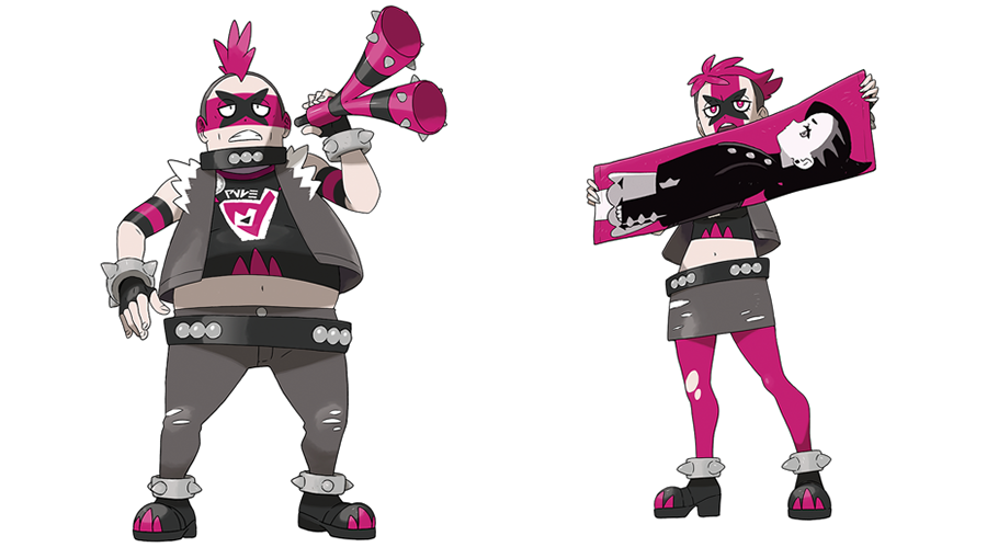 Team Yell Pokémon Épée et Bouclier
