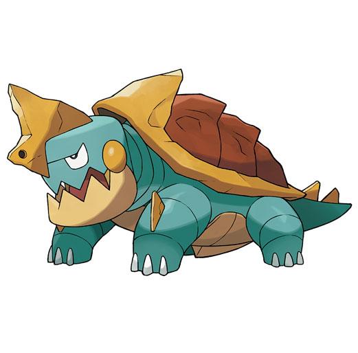 Torgamord Pokémon Épée et Bouclier
