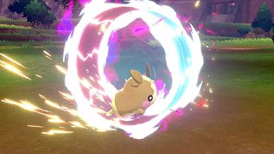 Roue Libre Morpéko Pokémon Épée et Bouclier