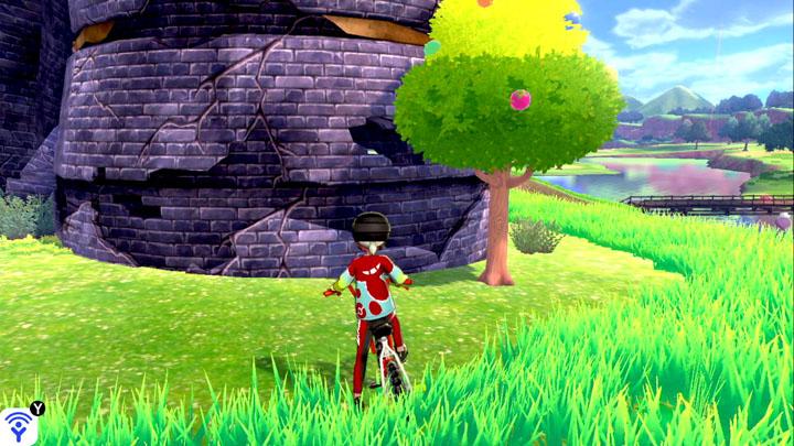 Arbre à baies - Tour en ruines Pokémon Épée et Bouclier