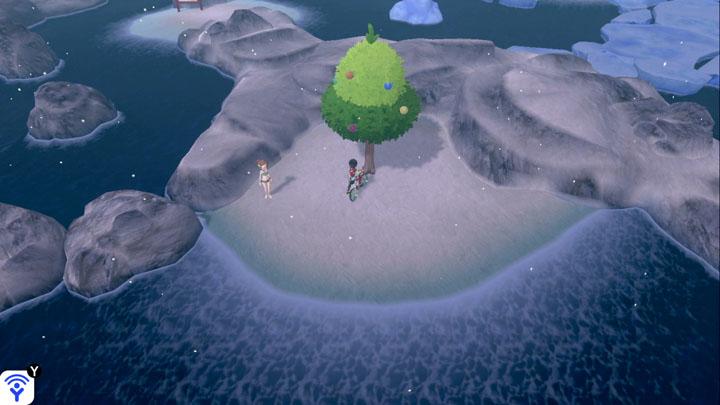 Arbre à baies - Route 9 (Baie de Ludester) Pokémon Épée et Bouclier