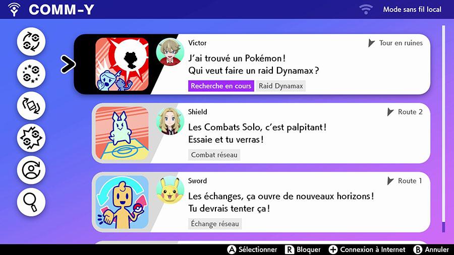 Comm-Y Pokémon Épée et Bouclier