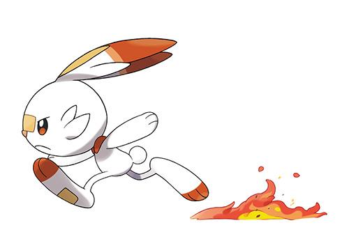 Flambino Pokémon Épée et Bouclier