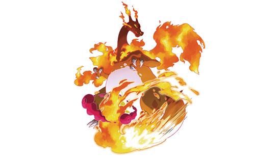 Dracaufeu Gigamax Pokémon Épée et Bouclier