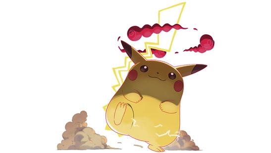 Pikachu Gigamax Pokémon Épée et Bouclier