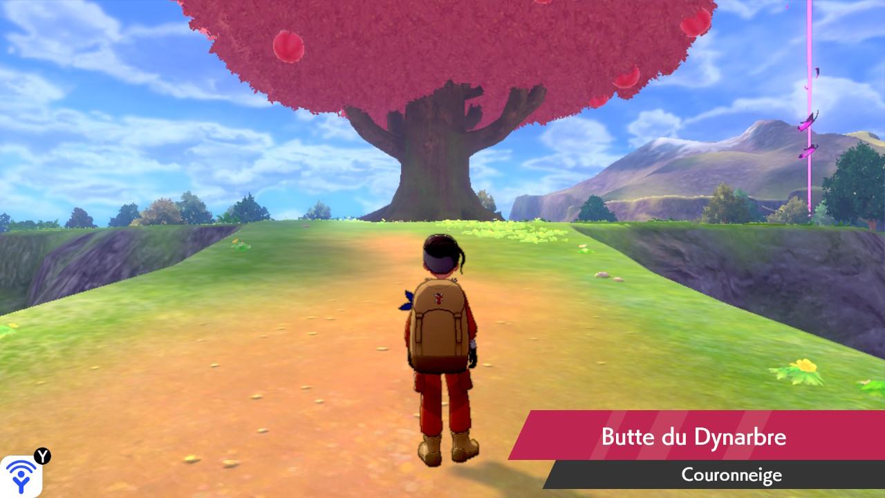 Butte du Dynarbre Couronneige Pokémon Épée et Bouclier