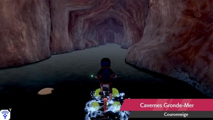 Cavernes Gronde-Mer Couronneige Pokémon Épée et Bouclier