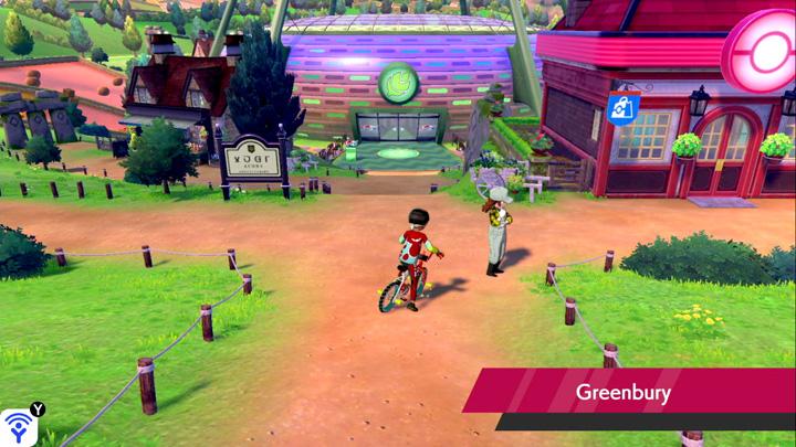Greenbury Pokémon Épée et Bouclier
