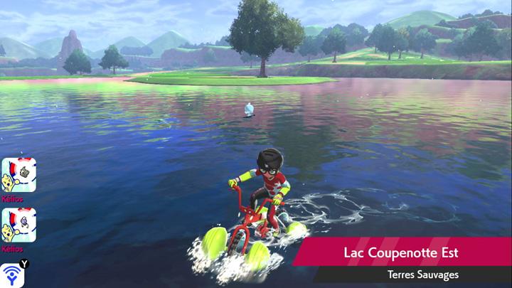 Lac Coupenotte Est Pokémon Épée et Bouclier