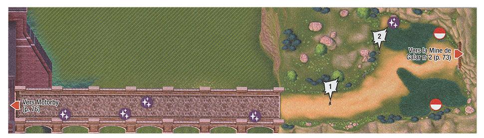 Carte - Abords de Motorby Pokémon Épée et Bouclier