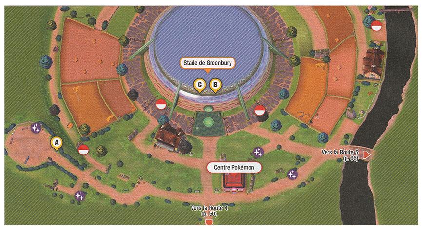 Carte - Greenbury Pokémon Épée et Bouclier