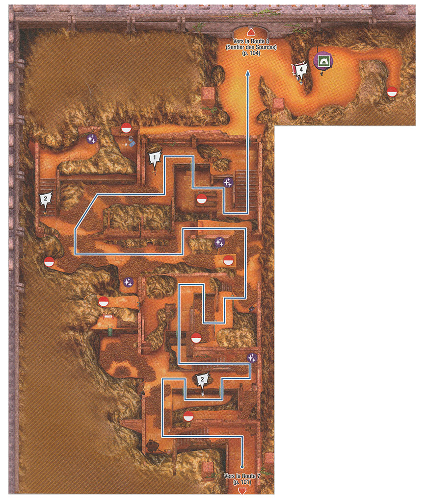 Carte - Route 8 Pokémon Épée et Bouclier