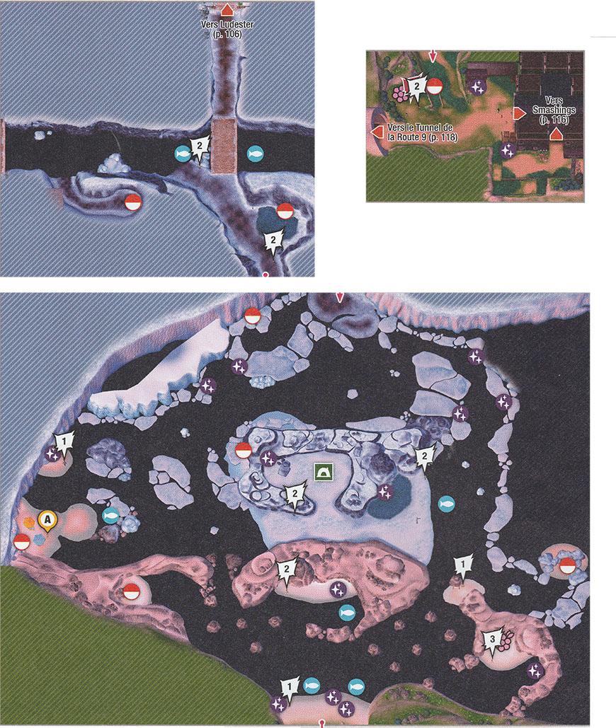 Carte - Route 9 Pokémon Épée et Bouclier