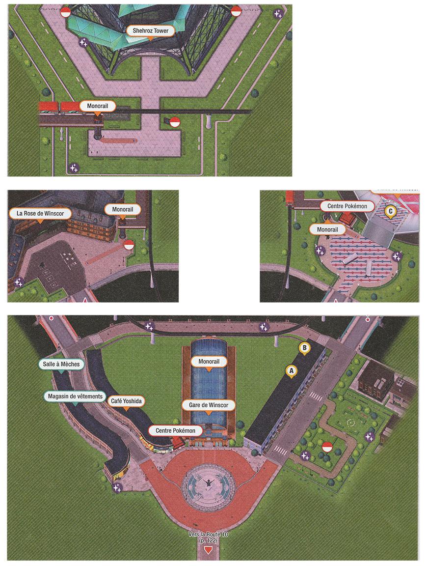 Carte - Winscor Pokémon Épée et Bouclier