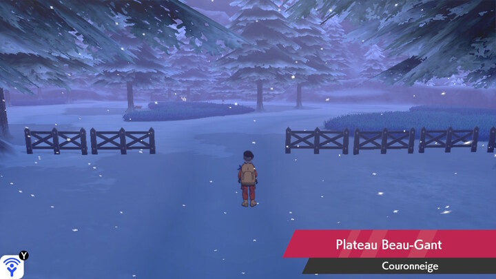 Plateau Beau-Gant Couronneige Pokémon Épée et Bouclier