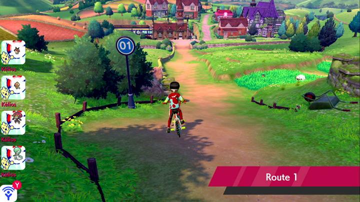 Route 1 Pokémon Épée et Bouclier