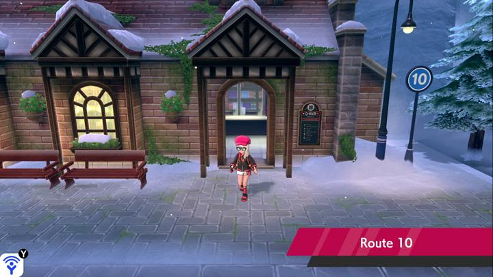Route 10 Pokémon Épée et Bouclier