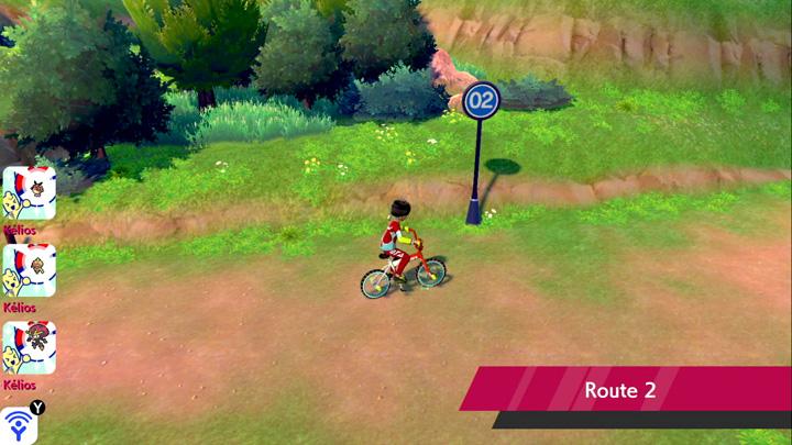 Route 2 Pokémon Épée et Bouclier