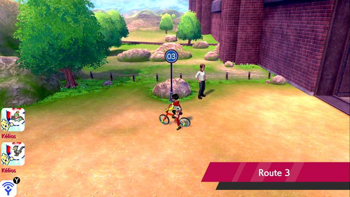 Route 3 Pokémon Épée et Bouclier