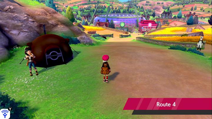 Route 4 Pokémon Épée et Bouclier